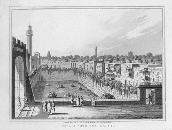 Copy Space「Pool of Bethesda. John. 5. 2., 1830」:写真・画像(9)[壁紙.com]