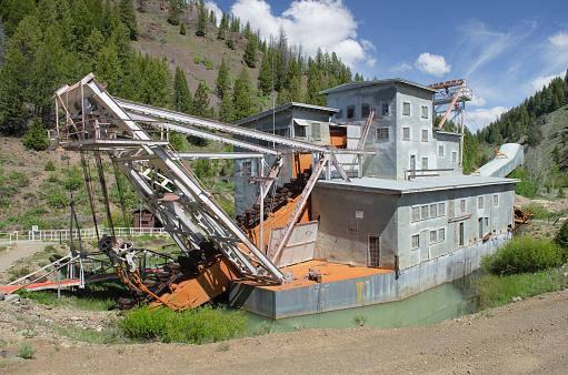 Mining - Natural Resources「Yankee Fork Gold Dredge Idaho」:スマホ壁紙(7)