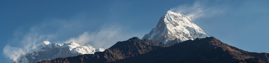 Himalayas「Annapurna I - Annapurna South panorama」:スマホ壁紙(7)