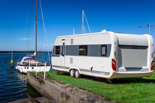 Sailboat「Summer holiday at the Szczecin Lagoon, Germany」:スマホ壁紙(14)