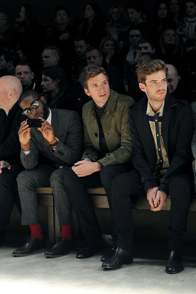 Entertainment Event「Burberry Prorsum: Front Row - Milan Fashion Week Menswear Autumn/Winter 2013」:写真・画像(11)[壁紙.com]