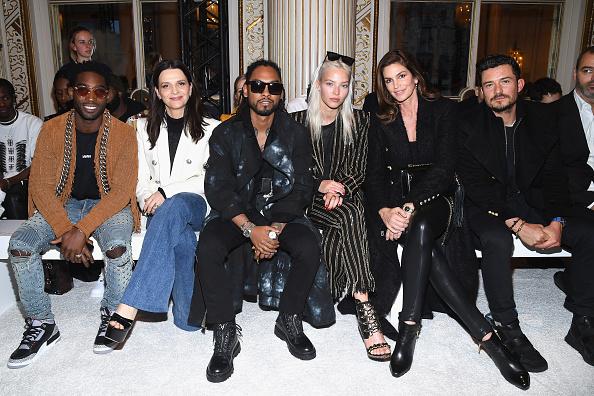 オーランド・ブルーム「Balmain Homme : Front Row - Paris Fashion Week - Menswear F/W 2018-2019」:写真・画像(15)[壁紙.com]