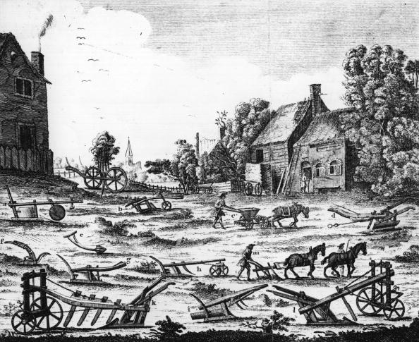 18th Century Style「Ploughs」:写真・画像(2)[壁紙.com]