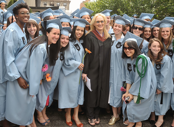 Columbia University「Meryl Streep Delivers 2010 Barnard College Commencement Address」:写真・画像(16)[壁紙.com]