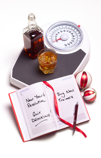 New Year「New years resolution to stop drinking」:スマホ壁紙(0)