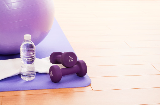 Dumbbell「Purple Fitness Ball」:スマホ壁紙(5)