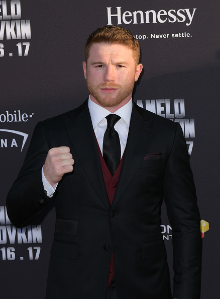 "Saul Alvarez「Hennessy Screening of ""I Am Boxing"" and Canelo VS. GGG Wrap Party at The Avalon in Los Angeles」:写真・画像(11)[壁紙.com]"