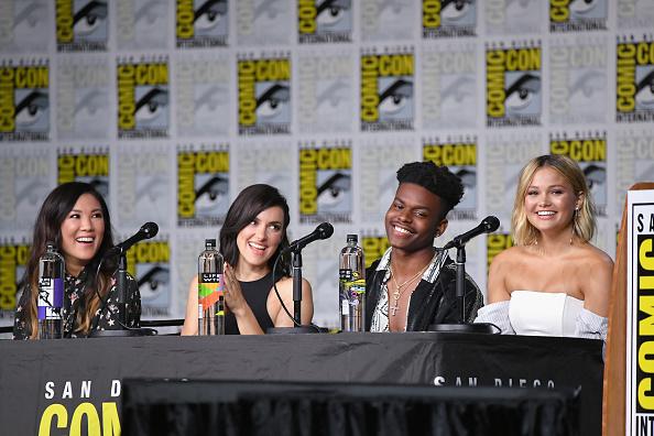 "San Diego Convention Center「Comic-Con International 2018 - Marvel Television: ""Marvel's Cloak & Dagger"" Panel」:写真・画像(11)[壁紙.com]"