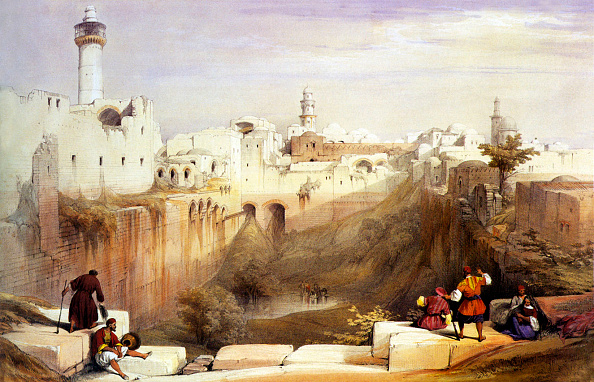 1840-1849「Jerusalem. The Pool of Bethesda」:写真・画像(11)[壁紙.com]