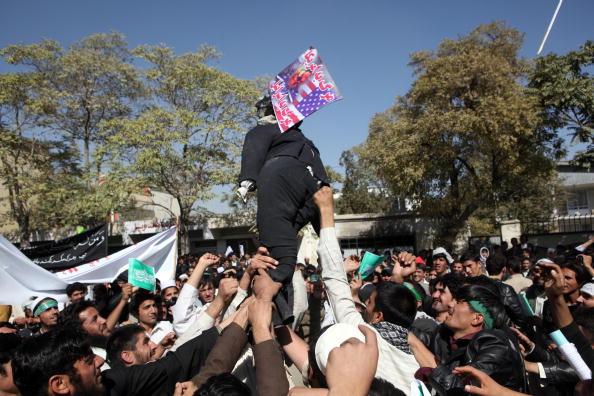 Kabul「Afghans Protest Over Allegations Of Desecration Of Koran By Foreign Troops」:写真・画像(14)[壁紙.com]