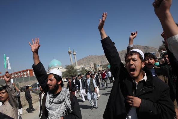 Kabul「Afghans Protest Over Allegations Of Desecration Of Koran By Foreign Troops」:写真・画像(16)[壁紙.com]