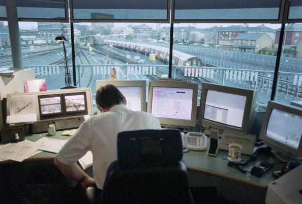 Train - Vehicle「Control Room London Underground」:写真・画像(14)[壁紙.com]