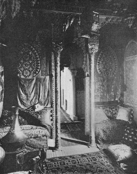 Nouvelle-Aquitaine「A corner of the Turkish Room, c1895, (1903)」:写真・画像(4)[壁紙.com]