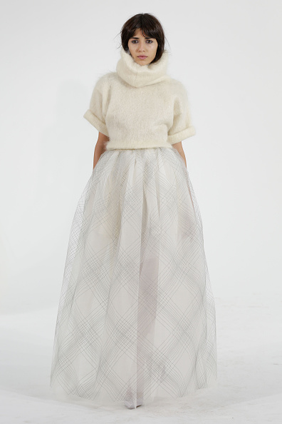Flared Skirt「Fall 2015 Bridal Collection - Houghton - Show」:写真・画像(7)[壁紙.com]