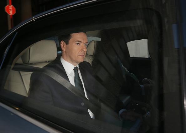 Treasury - Finance and Government「Chancellor George Osborne Delivers His Autumn Statement」:写真・画像(8)[壁紙.com]