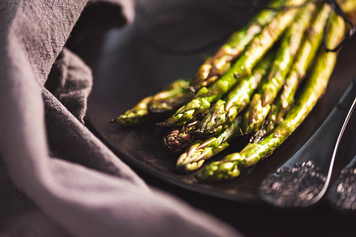 Roasted「Grilled Green Asparagus」:スマホ壁紙(14)