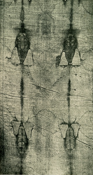 Circa 14th Century「The Holy Shroud - Imprint Of The Body: Front View」:写真・画像(12)[壁紙.com]