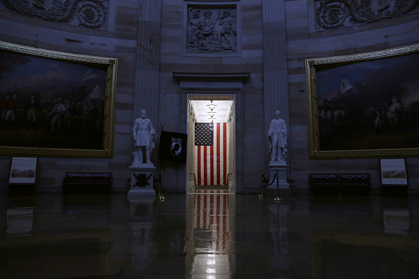 Capitol Building - Washington DC「Tours At US Capitol To End As Coronavirus Spreads」:写真・画像(14)[壁紙.com]