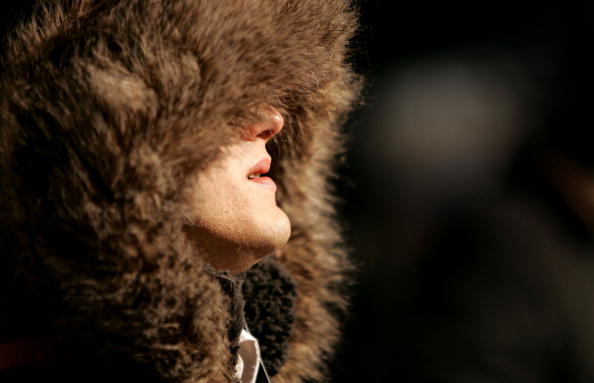 Coat - Garment「Arctic Air Mass Brings Deep Freeze To Midwest, Northeast」:写真・画像(9)[壁紙.com]
