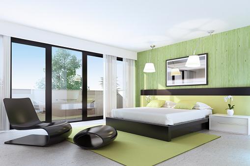 Wallpaper - Decor「Fresh Bedroom Design」:スマホ壁紙(19)