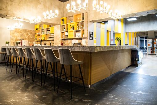 Creative Artists Agency「Empty modern bar」:スマホ壁紙(19)