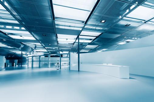 Ceiling「Empty modern office」:スマホ壁紙(0)