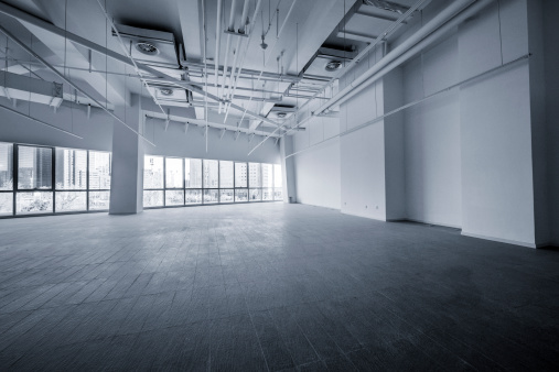 Built Structure「Empty modern office」:スマホ壁紙(1)