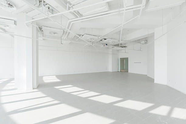 Empty modern office:スマホ壁紙(壁紙.com)