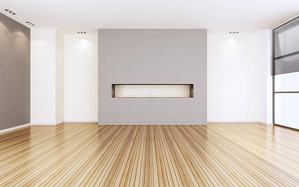 Empty modern room:スマホ壁紙(壁紙.com)
