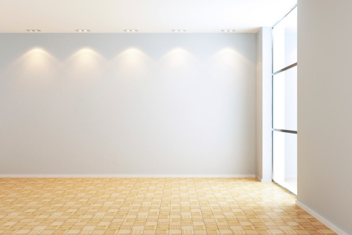 Extreme Close-Up「Empty Modern Room」:スマホ壁紙(2)