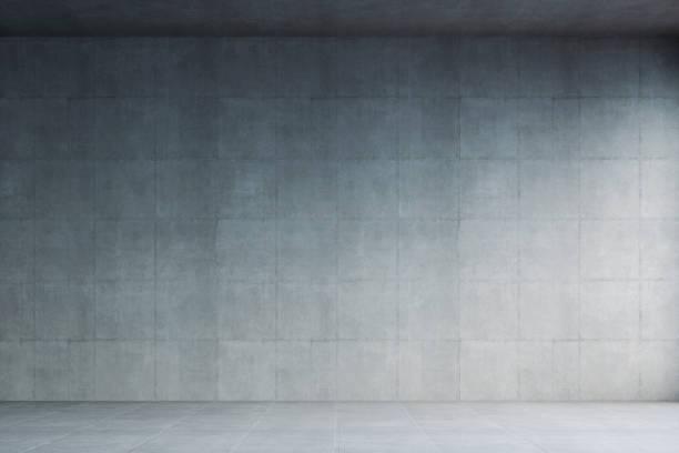 Empty modern concrete room:スマホ壁紙(壁紙.com)