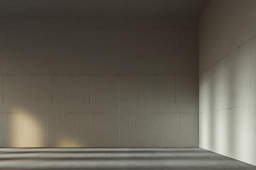 Slovenia「Empty modern concrete room」:スマホ壁紙(0)
