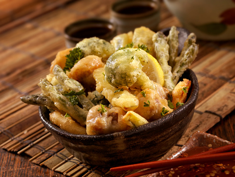 Deep Fried「Tempura Vegetables」:スマホ壁紙(13)