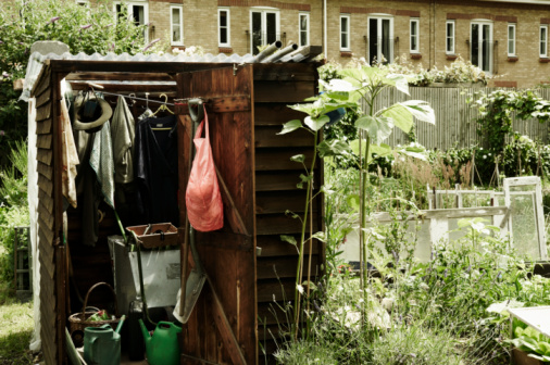 Shed「Garden shed on an allotment」:スマホ壁紙(7)