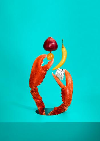 Lobster - Seafood「Balanced Diet Lobster」:スマホ壁紙(17)