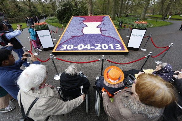 Keukenhof Gardens「General Scenes Around The Netherlands In The Lead Up To The Coronation Of Prince Willem Alexander」:写真・画像(4)[壁紙.com]