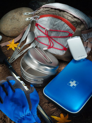 Eco Tourism「Hiking equipments」:スマホ壁紙(4)