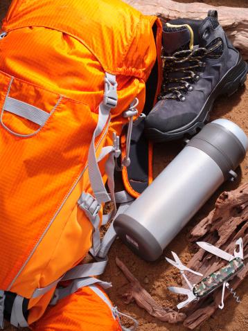 Eco Tourism「Hiking equipments」:スマホ壁紙(3)