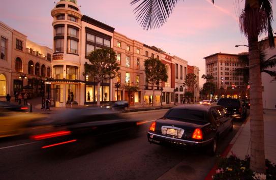 ビバリーヒルズ「Rodeo Drive in Beverly Hills」:写真・画像(0)[壁紙.com]
