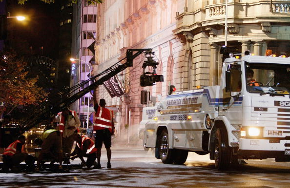 Film Set「Mask II Filmed on Sydney Streets」:写真・画像(3)[壁紙.com]