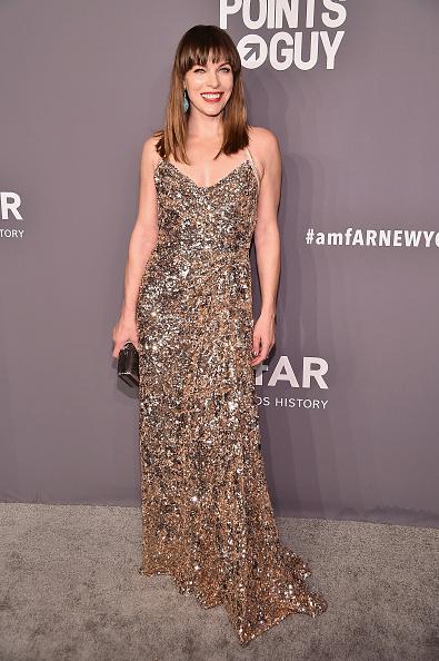 Milla Jovovich「amfAR New York Gala 2019 - Arrivals」:写真・画像(1)[壁紙.com]