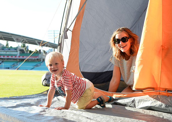 Eamonn M「The Caravan and Motorhome Club Launches the 'Big Little Tent Festival' at the Kia Oval」:写真・画像(5)[壁紙.com]
