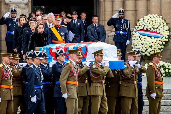Luxembourg Royalty「Funeral Of Grand Duke Jean Of Luxembourg」:写真・画像(16)[壁紙.com]