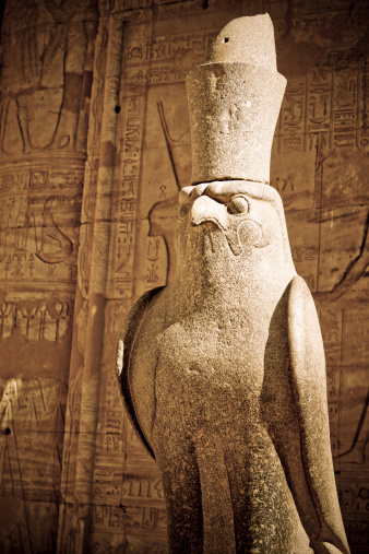 Hawk - Bird「Egyptian God Horus」:スマホ壁紙(17)