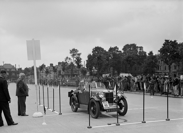 Kilogram「MG M type of KG Settle competing in the South Wales Auto Club Welsh Rally, 1937」:写真・画像(12)[壁紙.com]