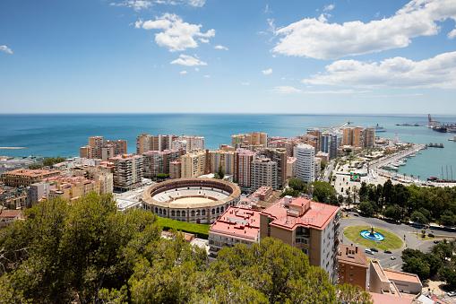 Málaga - Málaga Province「Spain, Andalusia, Malaga, bullring La Malagueta」:スマホ壁紙(2)