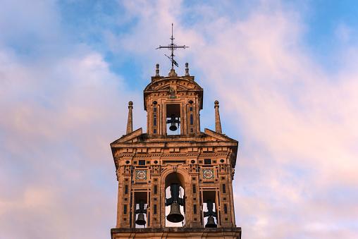 Convent「Spain, Andalusia, Seville, La Macarena, Bell tower of Santa Paula Monastery」:スマホ壁紙(7)
