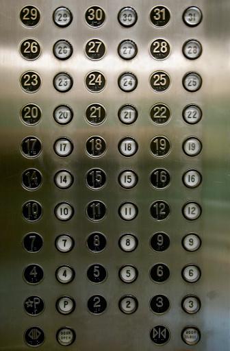 Push Button「Elevator Buttons」:スマホ壁紙(1)