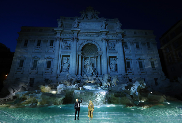 オートクチュール「Fendi Roma 90 Years Anniversary - Fashion Show」:写真・画像(6)[壁紙.com]
