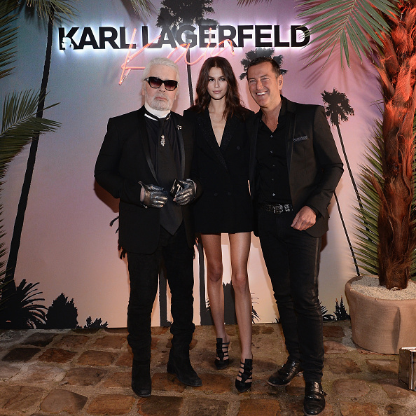 Fashion Collection「Karl Lagerfeld X Kaia Capsule Collection Launch - Photocall」:写真・画像(7)[壁紙.com]